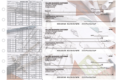 Architectural Precision Payroll Checks - 1